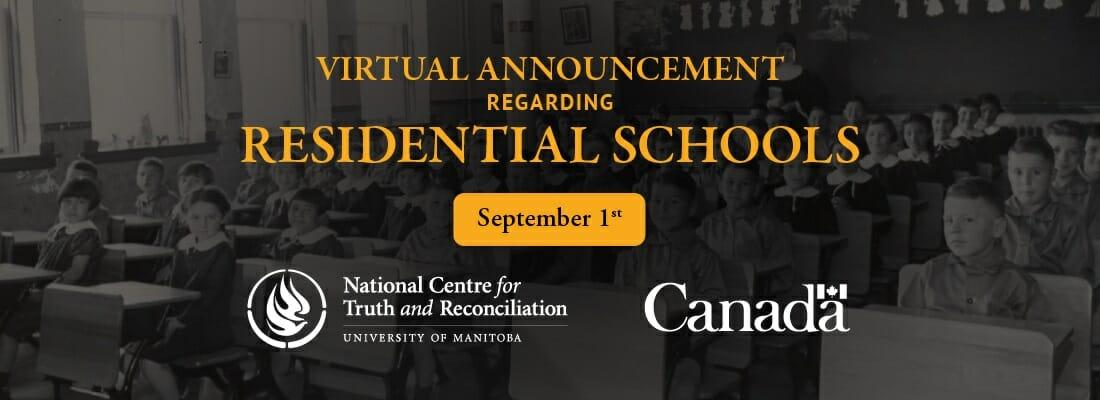 residential Schools announcement