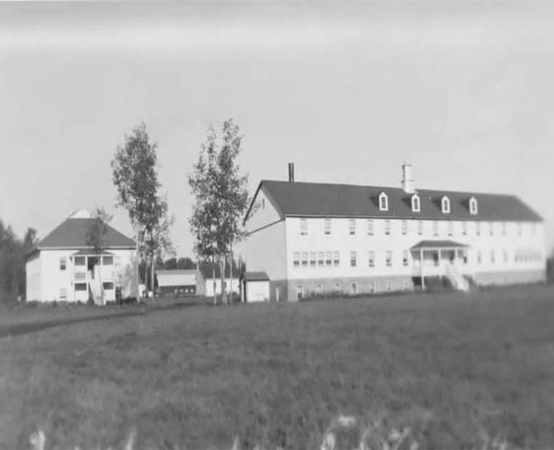 Assumption Hay Lakes school building