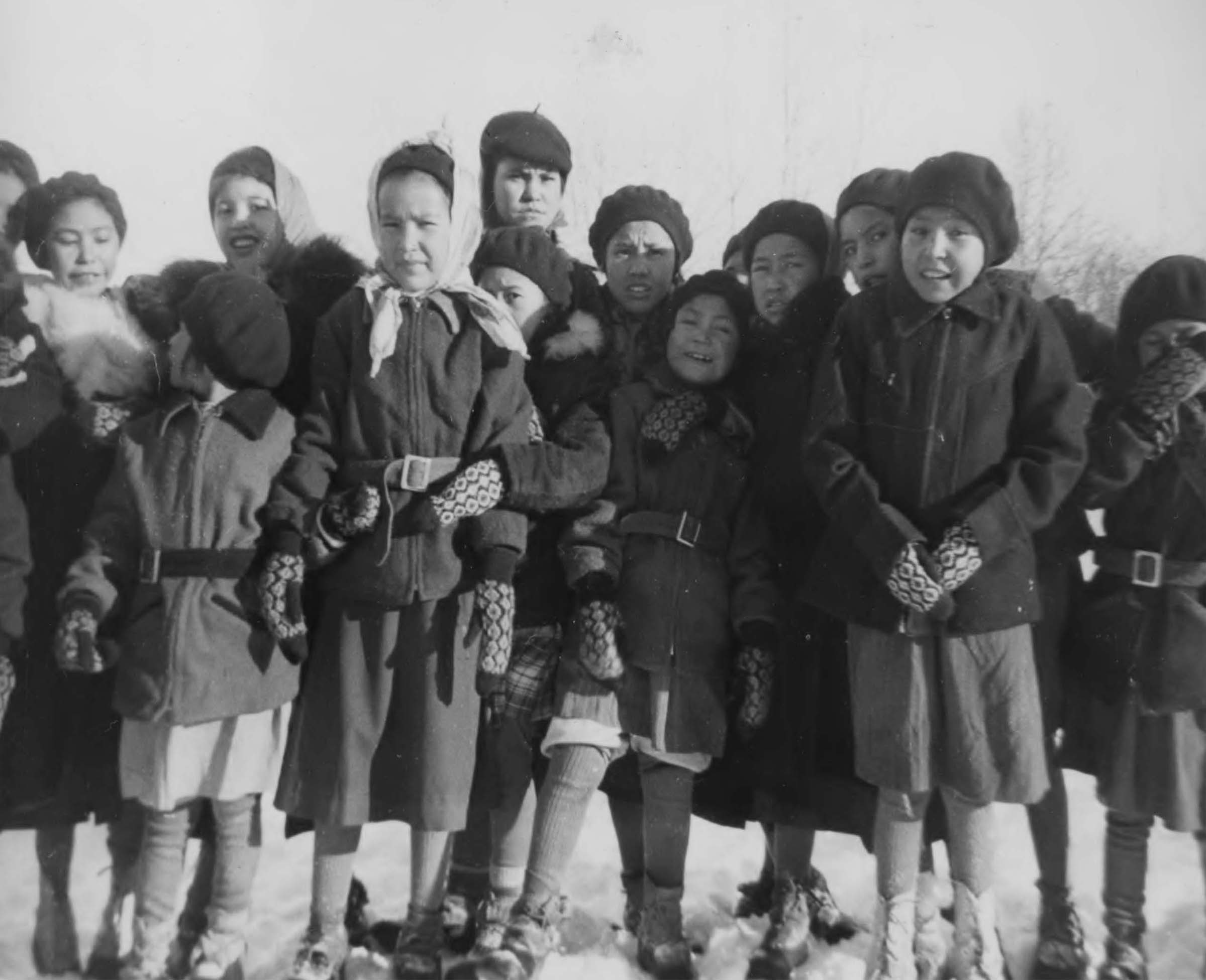 Assumption Hay Lakes Residential School students