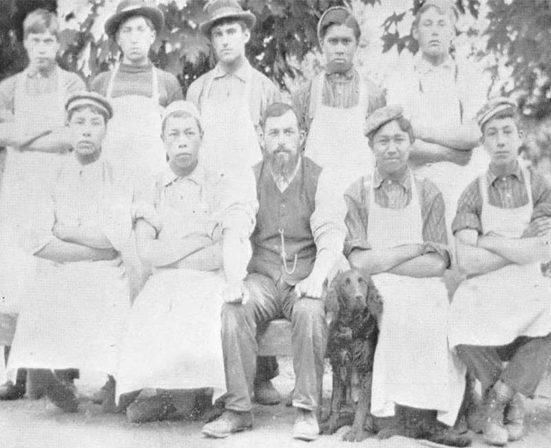 Group of people from Kupersland School