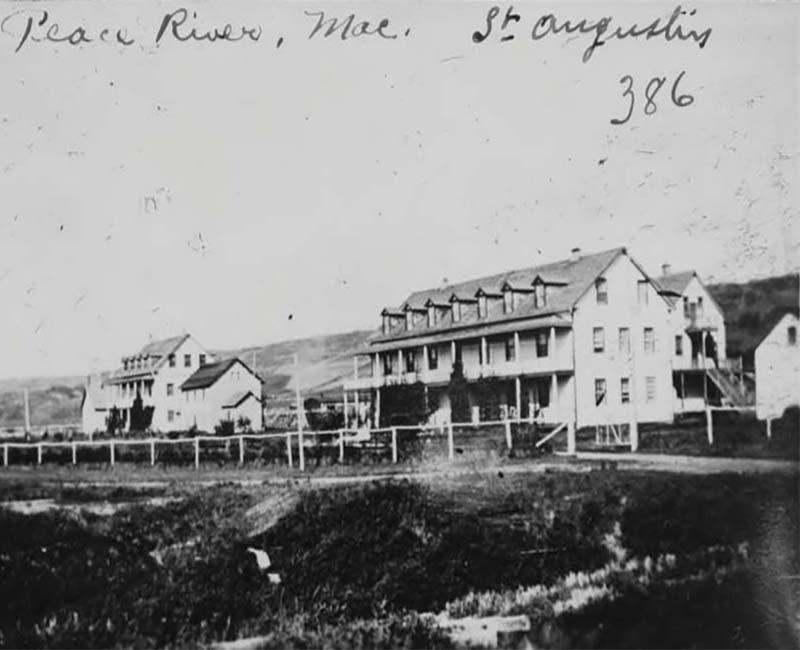 St. Augustine Smoky River building