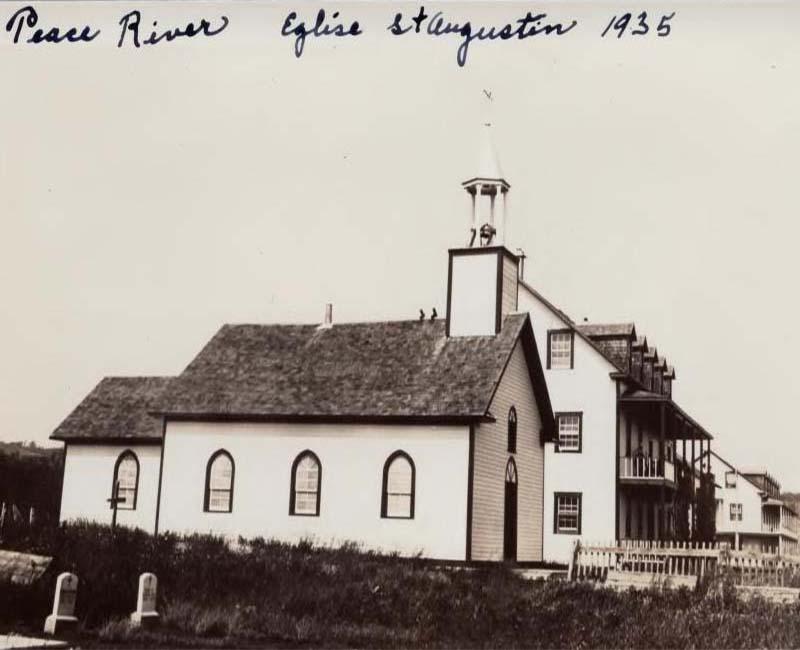 St. Augustine Smoky River church