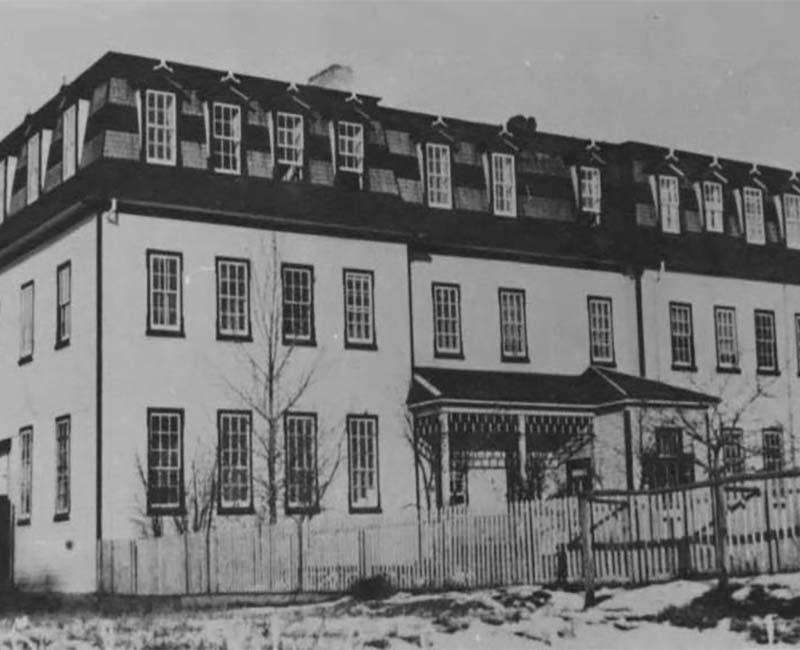 St. Josephs Dunbow school building