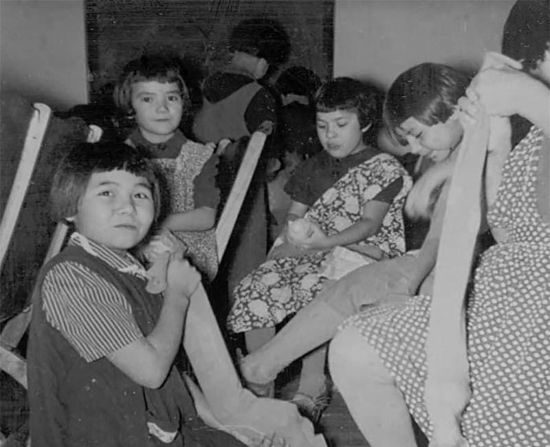 Group of children from Bishop Horden Hall