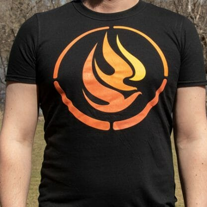 Front of NCTR t-shirt