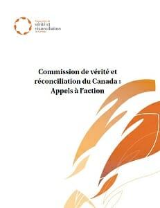 Commission de vérité et réconciliation du Canada : Appels à l'action